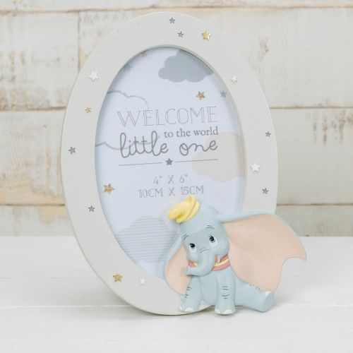 Disney Dumbo Oval Photo Frame Nursery Decor and Gift